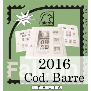 Fogli Italia 2016 Codice a Barre