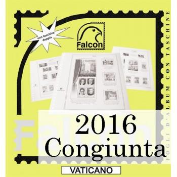 Fogli Vaticano 2016 MF Cong. Lussemburgo