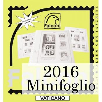 Fogli Vaticano 2016 MF Genetliaco Papa