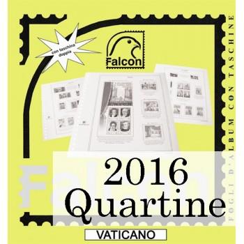 Fogli Vaticano 2016 Quartine
