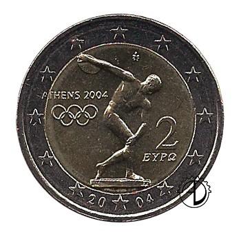 Grecia - 2004 - 2€ Olimpiade di Atene