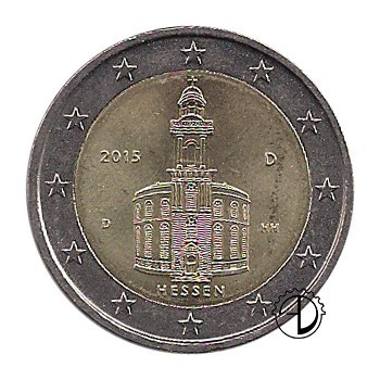 Germania - 2015 - 2€ Chiesa di Francoforte