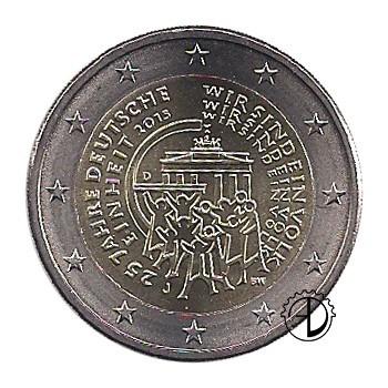 Germania - 2015 - 2€ Riunificazione Tedesca