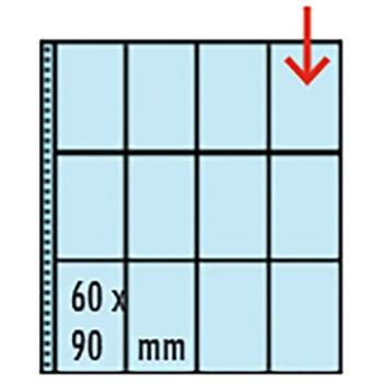 Tasche EXTRA trasparenti 12 Spazi