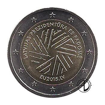 Lettonia - 2015 - 2€ Presidenza Consiglio Europeo