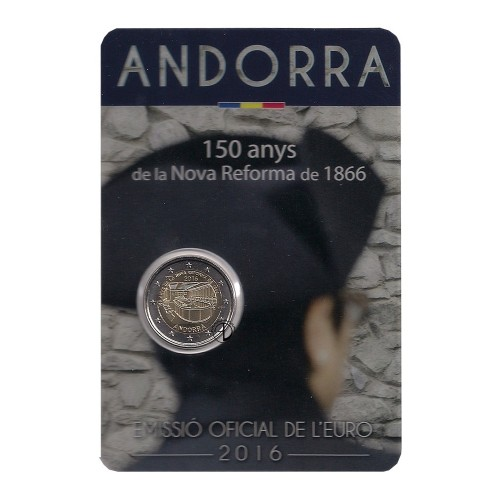 Andorra - 2016 - 2€ Riforma (in blister)