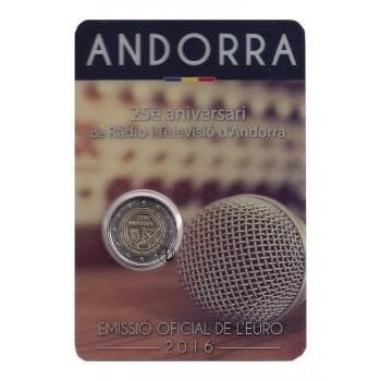 Andorra - 2016 - 2€ Radiovisione (in blister)