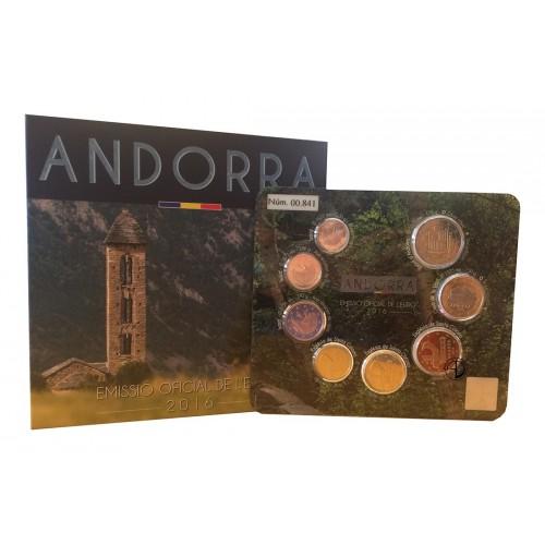 Andorra - 2016 - Divisionale