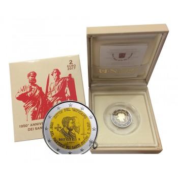 Vaticano - 2017 - 2€ SS. Pietro e Paolo PROOF