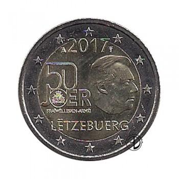 Lussemburgo - 2017 - 2€ Servizio Militare