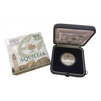 Italia - 2010 - 10€ Aquileia PROOF