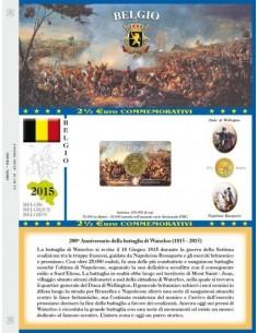 Abafil Foglio 2,5€ 2015 Belgio in Blister