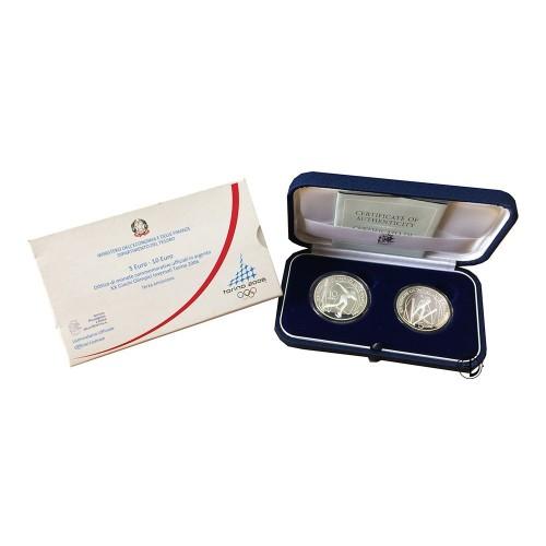 Italia - 2005 - 5 e 10€ Olimpiadi 3° - PROOF