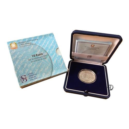 Italia - 2005 - 10€ ONU