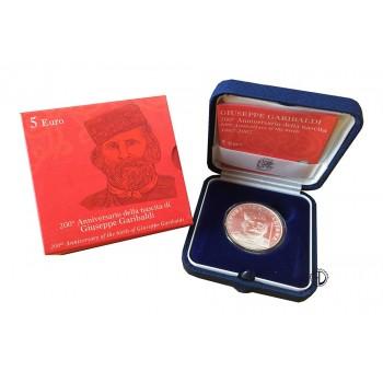 Italia - 2007 - 5€ Garibaldi
