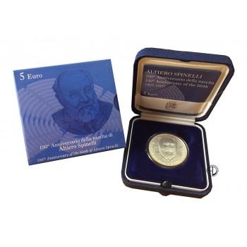 Italia - 2007 - 5€ Spinelli