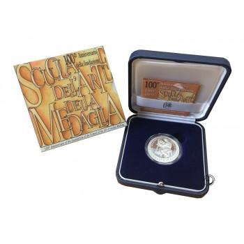 Italia - 2007 - 10€ Arte della Medaglia PROOF