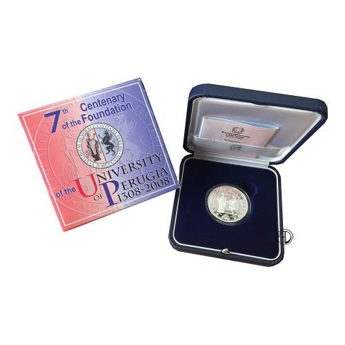 Italia - 2008 - 10€ Perugia PROOF