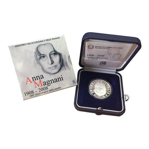Italia - 2008 - 5€ Magnani PROOF