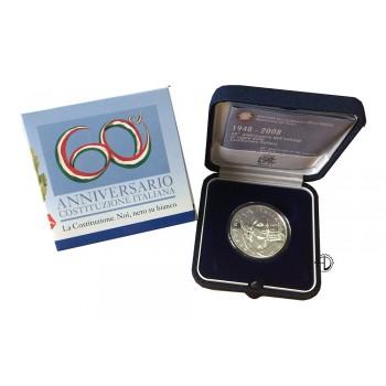 Italia - 2008 - 5€ Costituzione