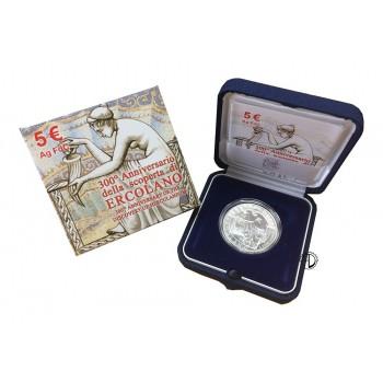 Italia - 2009 - 5€ Ercolano