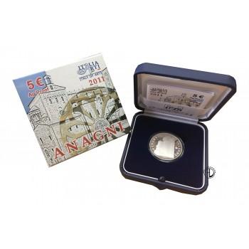 Italia - 2011 - 5€ Anagni PROOF