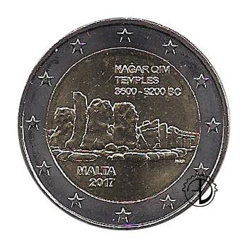 Malta - 2017 - 2€ Templi di Hagar Qim