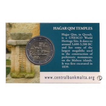 Malta - 2017 - 2€ Templi di Hagar Qim (blister)