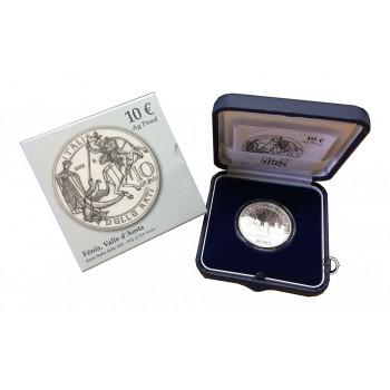 Italia - 2013 - 10€ Fenis PROOF