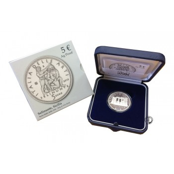 Italia - 2013 - 5€ Selinunte PROOF
