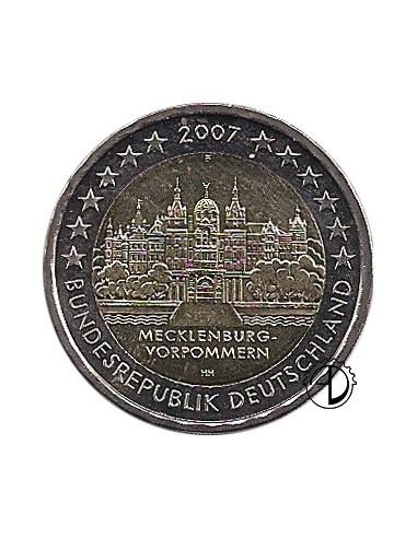 Germania - 2007 - 2€ Castello di Schwerin