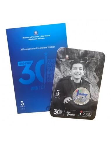Italia - 2020 - 5€ Telethon