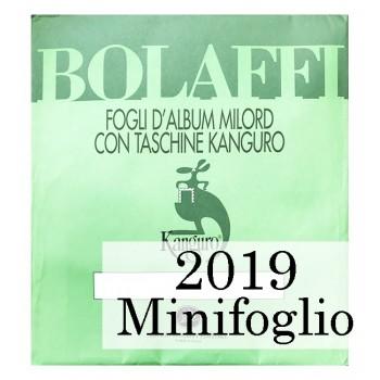 Fogli Italia 2019 MF Juventus - Bolaffi