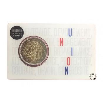 "Francia - 2020 - 2€ UNION (coincard ""Union"")"