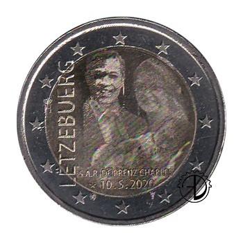 Lussemburgo - 2020 - 2€ Nascita Pr. Carlo OLOGRAFICO
