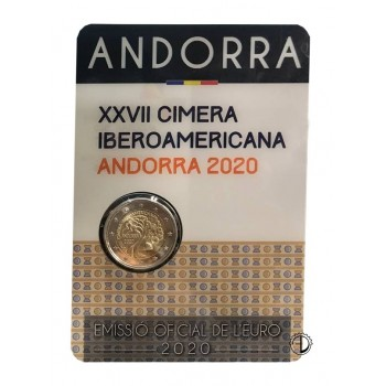 Andorra - 2020 - 2€ Vertice Iberoamericano