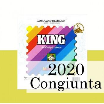 Fogli Vaticano 2020 MF Congiunte - King