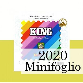 Fogli Vaticano 2020 Minifogli - King