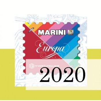 Fogli Vaticano 2020 - Europa
