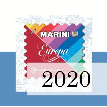 Fogli San Marino 2020 - Europa