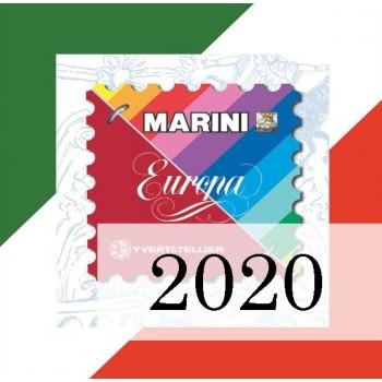 Fogli Italia 2020 - Europa