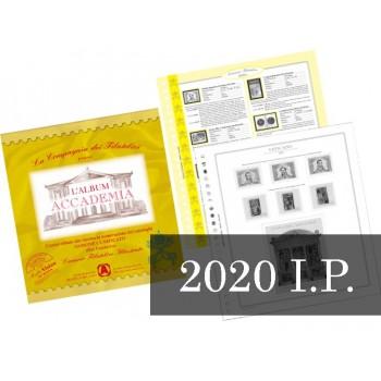 Fogli Vaticano 2020 Interi Postali - Accademia
