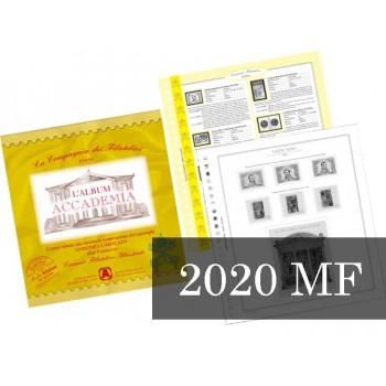 Fogli Vaticano 2020 Minifogli - Accademia
