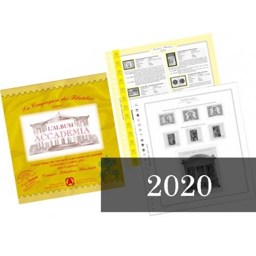 Fogli Vaticano 2020 - Accademia