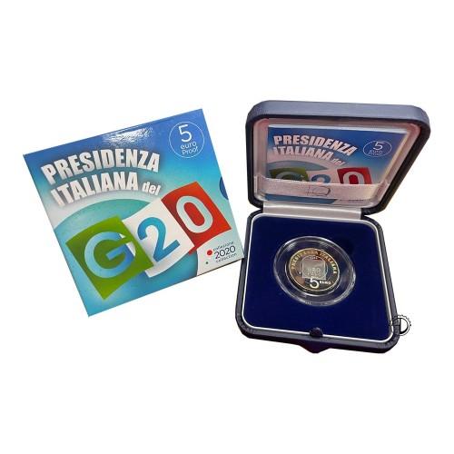 Italia - 2020 - 5€ G20 FS
