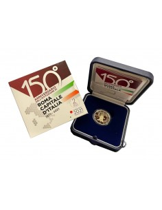 Italia - 2021 - 2€ Roma Capitale PROOF