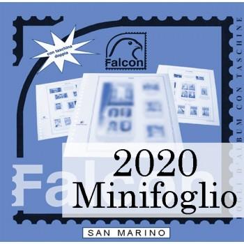 Fogli San Marino 2020 Minifoglio
