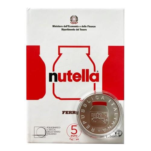 Italia - 2021 - 5€ Nutella Rossa