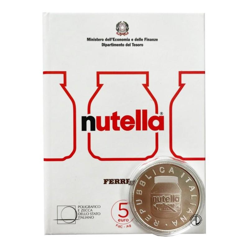 Italia - 2021 - 5€ Nutella Bianca