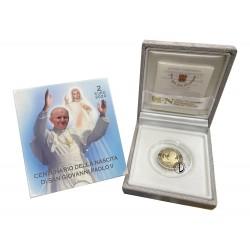 Vaticano - 2020 - 2€ Giovanni Paolo II PROOF